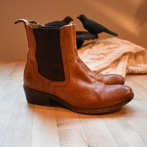 Classic Frye Ankle Boots